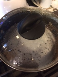 Castile Soap and Water Simmering