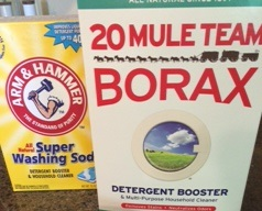 Washing Soda and Borax