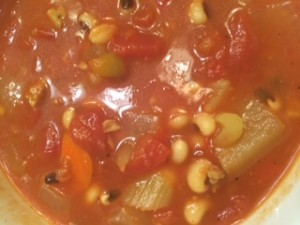 Blackeyed Pea Stew