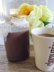 Chocolate Creamer hostess gift mug