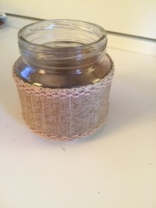 Ribbon Jars Flat Linen