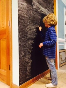 Chalkboard Wall Seasoning