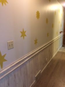 Beadboard Hallway After Complete