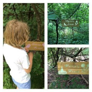 Fairy Forest signs